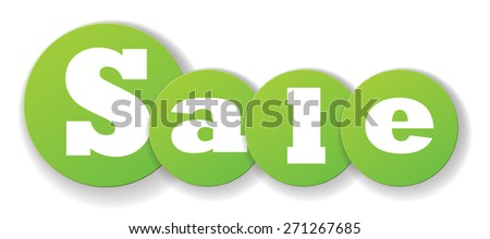 Sale Banner. Vector Illustration EPS10