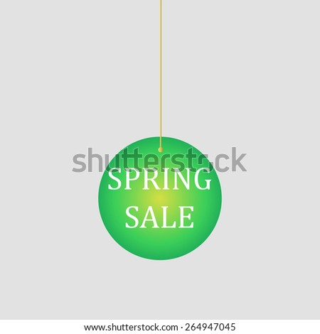 Sale design, decoration for shop windows and shops, illustration for shopping catalogs - stock vector