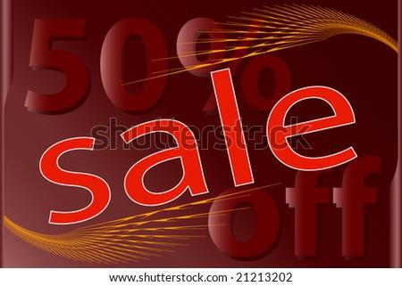 Sale Design template - stock vector