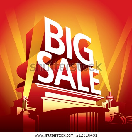 sale festival,big sale festival - stock vector