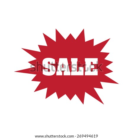 Sale flash, vector illustration - stock vector
