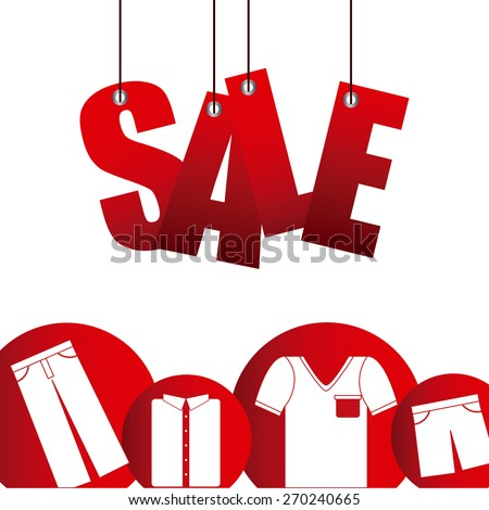 sale icons design, vector illustration eps10 graphic  - stock vector