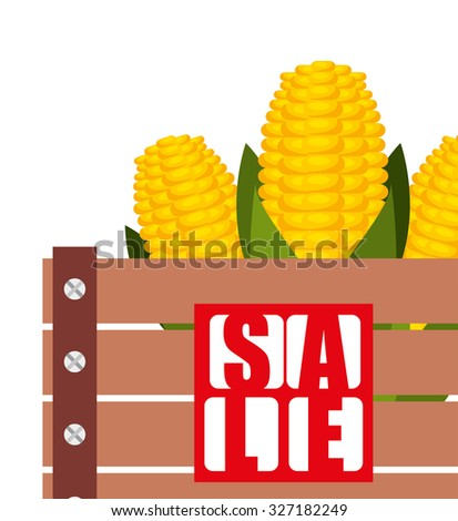 sale of farm products design, vector illustration eps10 graphic