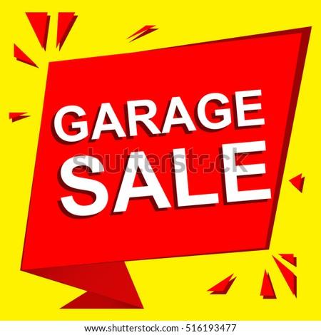 garage sale ad template