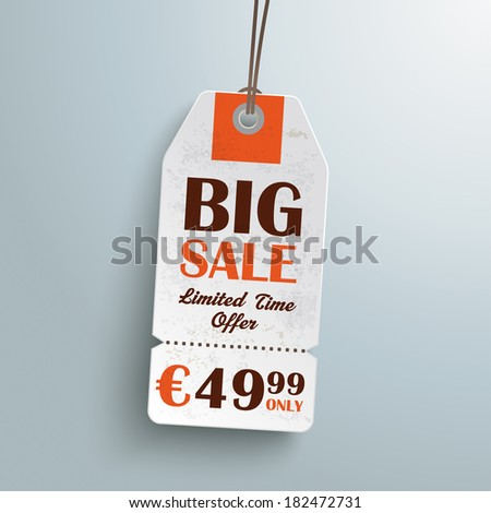Sale sticker on the grey background. Eps 10 vector file. - stock vector