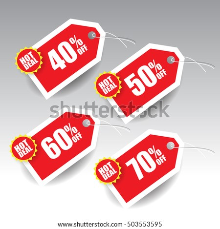 Sale Tag Design