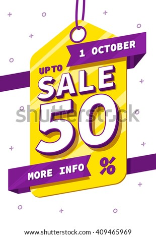 sale tag , sale banner, sale background, sale ribbons, sale posted vector illustration with place for text vector eps 10 - stock vector