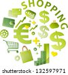 sales growth - stock vector