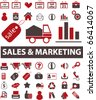 sales & marketing signs. vector - stock vector