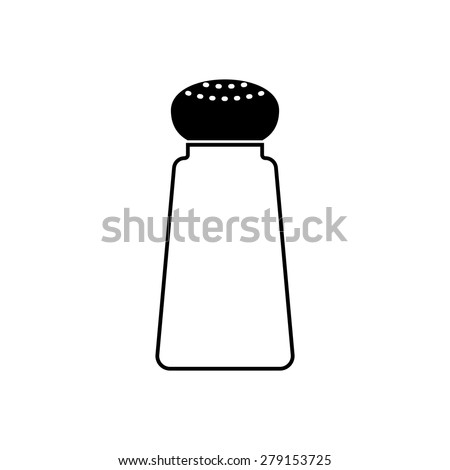 Salt or pepper shaker - stock vector