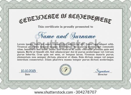 sample certificate diploma border frameretro design stock vector  sample certificate or diploma border frame retro design complex background