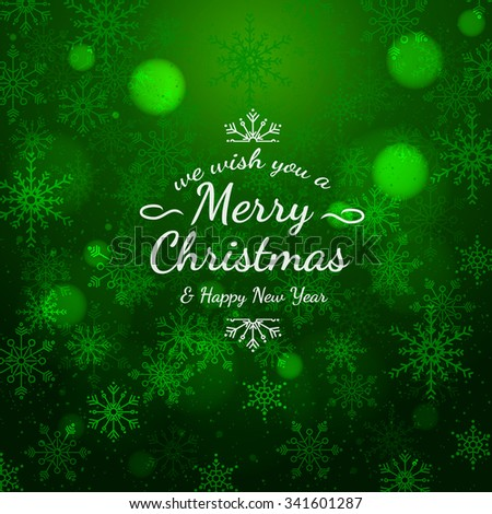 Sample Christmas Cards Colorful Text Texture Stock Vector 341601287