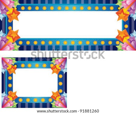 Sample for Advertisement or Happy Shopping Event on white background - stock vector