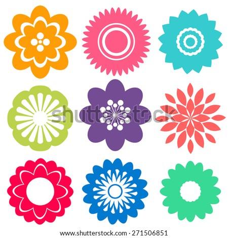 sample flower patterns design stock vector 271506851 shutterstock rh shutterstock com flower pattern vector freepik flower pattern vector free download