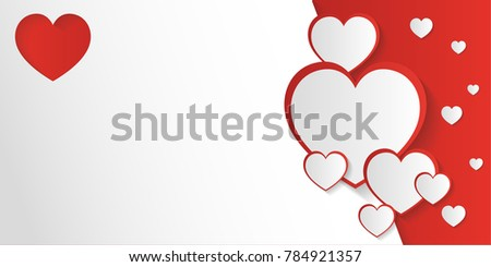 San valentine day invitation card background em vetor stock san valentine day invitation card or background with space to writing message stopboris Image collections