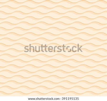 sand 3d geometric pattern  - stock vector