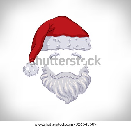 santa claus.  - stock vector