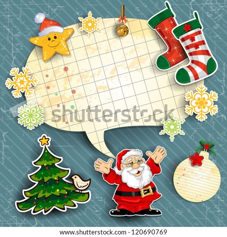 Christmas and here set on shutterstock for Decoration epiphanie