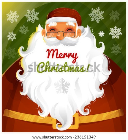 Santa Clause Vector character eps 10 - stock vector