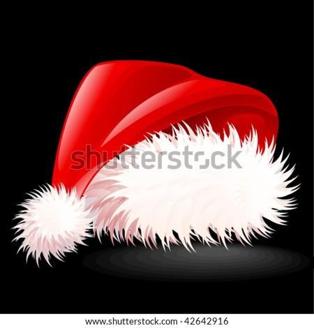 Santa's Hat 2 - stock vector