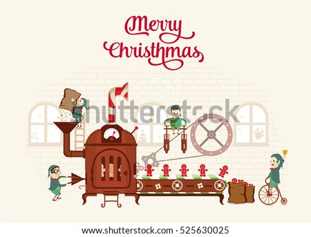 Santas Workshop Stock Images, Royalty-Free Images & Vectors ...