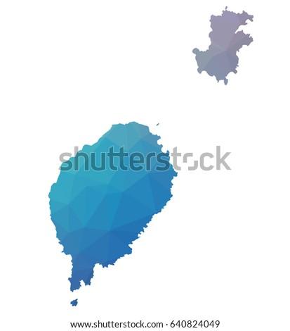 Map Sao Tome Principe Africa Stock Vector 267509498 Shutterstock