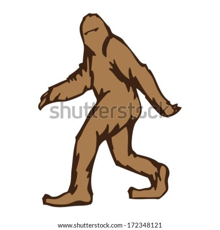 Sasquatch Walking