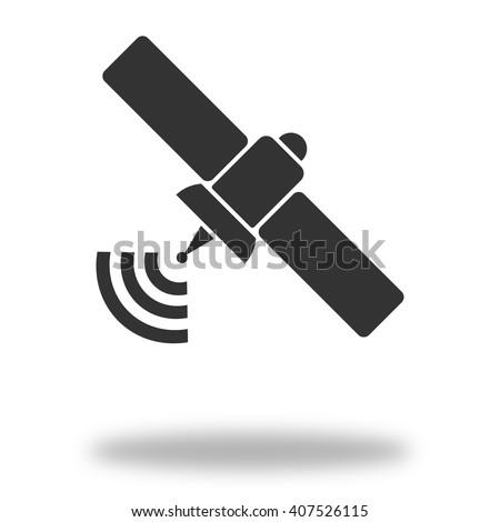 Satellite Icon  - stock vector