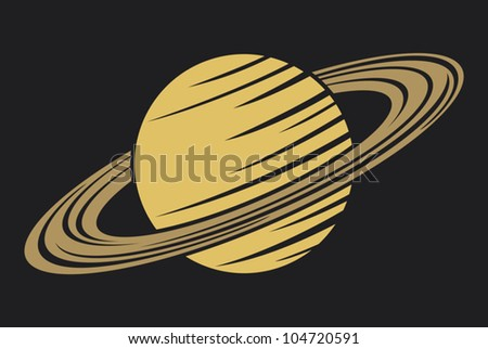 Saturn Planet Vectores en stock y Arte vectorial ...
