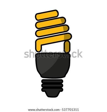 save bulb isolated icon vector illustration design