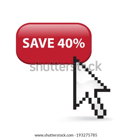 Save Forty Percent Button Click