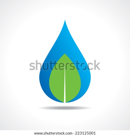 Save nature concept stock vector - stock vector