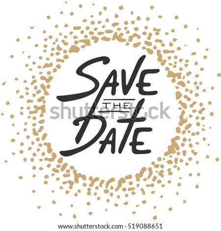 Save Date Invite Greeting Card Vector Stock Vector - Save the date holiday party templates free