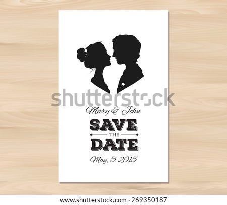 Save The Date Card Template Radiovkm Tk