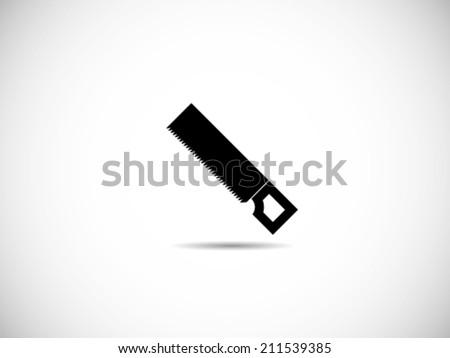 Saw Icon - stock vector