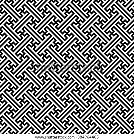 Sayagata background, traditional chinese pattern, vector illustration - stock vector