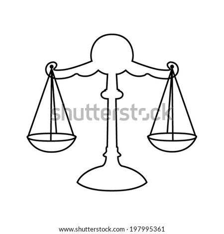 Balance Scale Coloring Page Balance Scale Coloring Page Coloring - Balance-scale-coloring-page