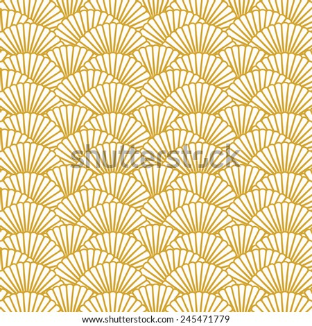 Scallop pattern repeat background.  Background image of repeat scallop shape pattern background image.