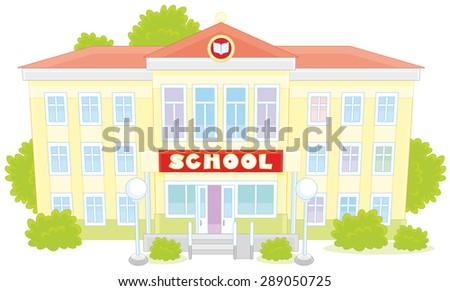 School - stock vector