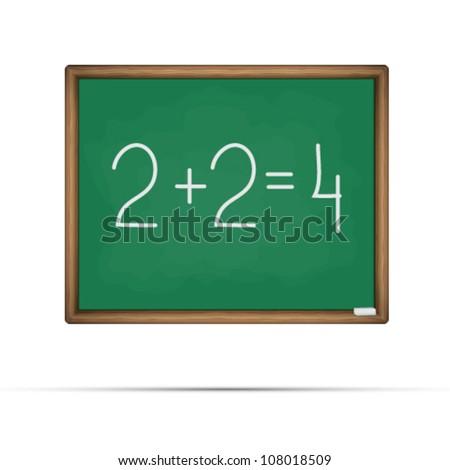 School board - stock vector