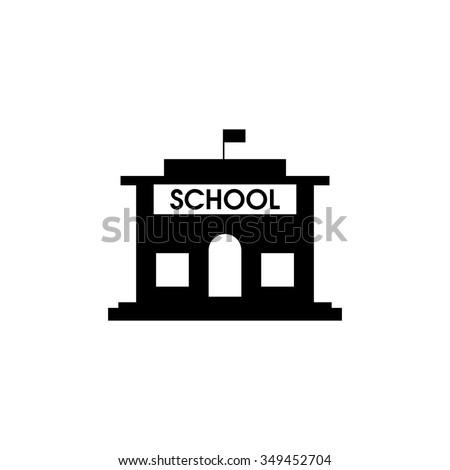 school building icon stock vector 349452704 shutterstock