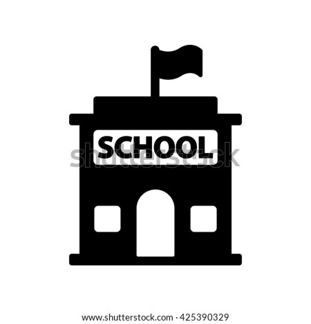 school building icon stock images royaltyfree images
