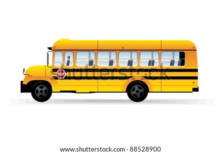 School bus. - stock vector