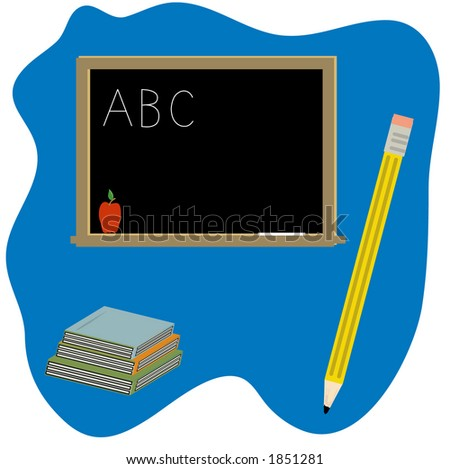 school clipart including chalk boardchalkapplebooks pencil stock rh shutterstock com chalk vector free download chalk vector elements