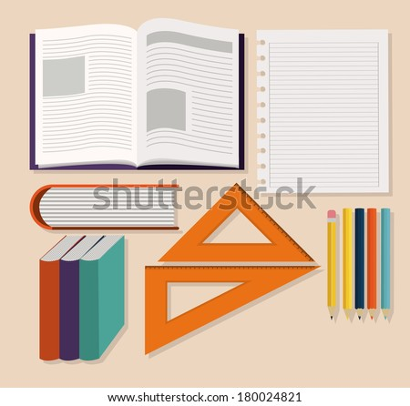 Illustration basic subjects in college