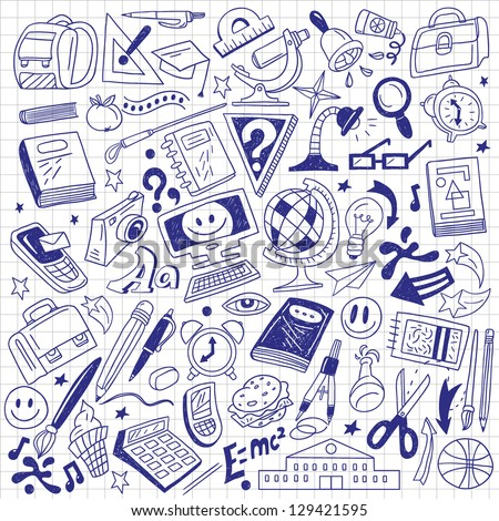 School Doodles Stock Photos, Images, & Pictures | Shutterstock