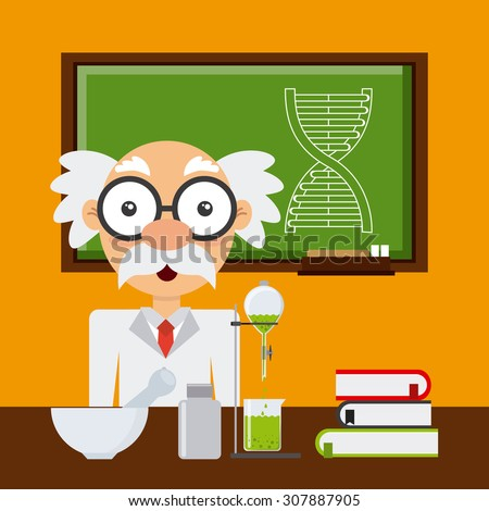 science concept design, vector illustration eps10 graphic