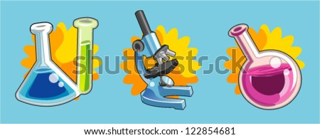 science object - stock vector