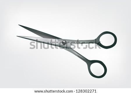 Scissors Isolated on white - stock vector
