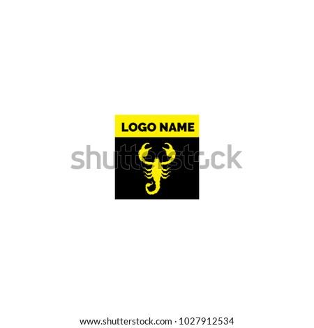 scorpio logo icon stock vector 1027912534 shutterstock rh shutterstock com scorpion logo clothing scorpio logistics